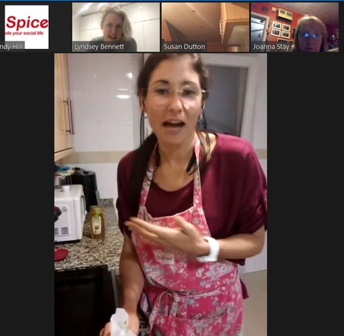 Yusimi new you cook along with Spice UK